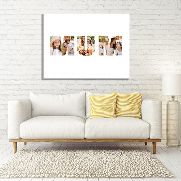 Mum Photo Canvas