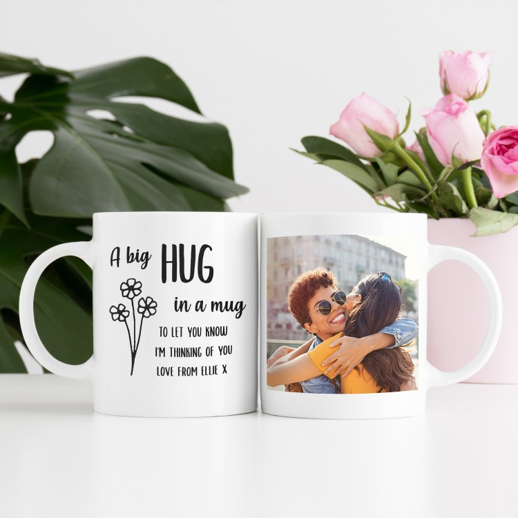Personalised Mug - Hug in a mug