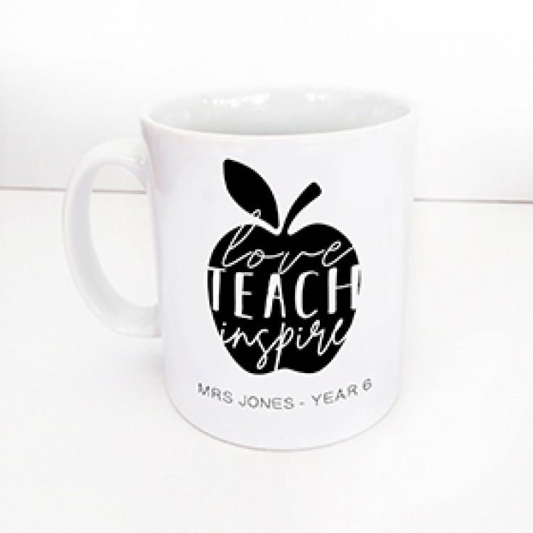 Love, Teach, Inspire mug