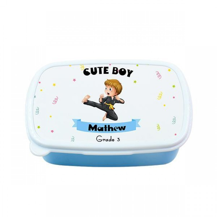 Personalised Lunchbox - Blue