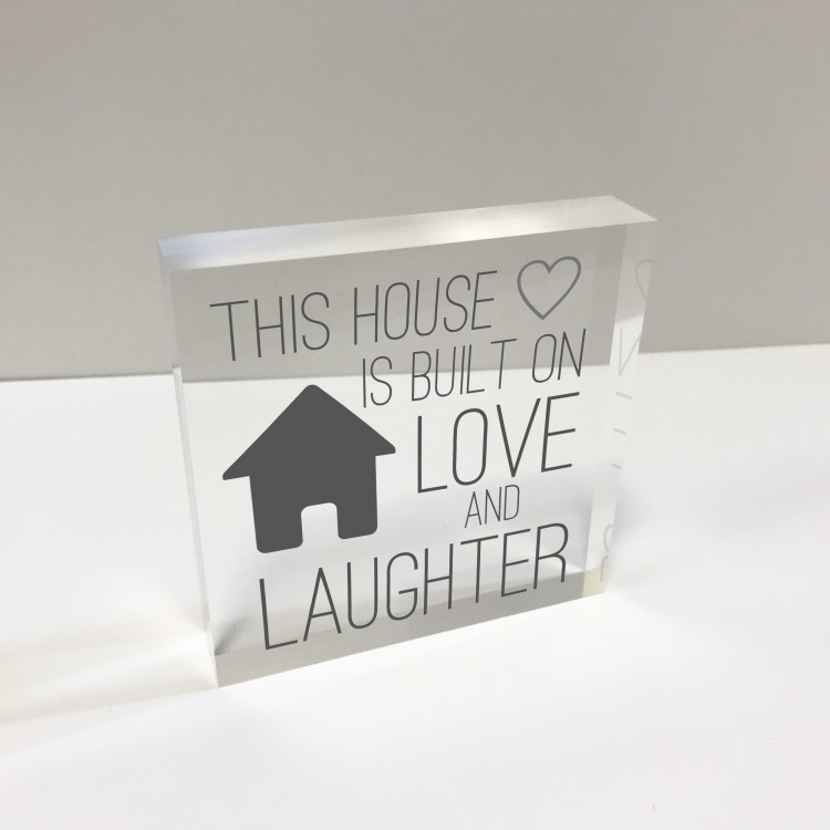 4x4 Glass Token - This House 75% off - now £9.99.