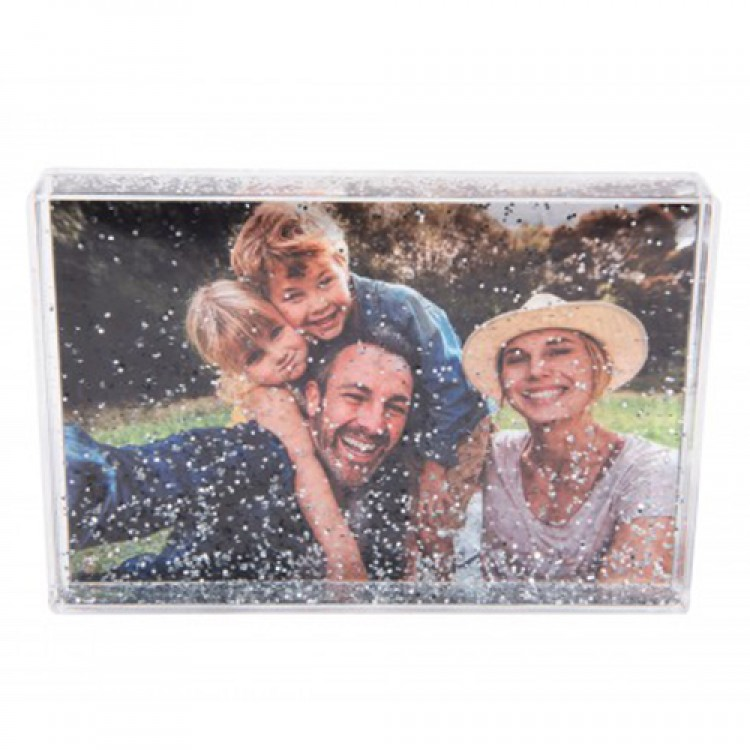 Landscape Photo Block Glitter - £14.95