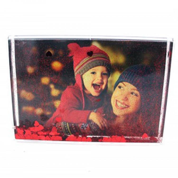 Landscape Photo Block Heart confetti - £14.95