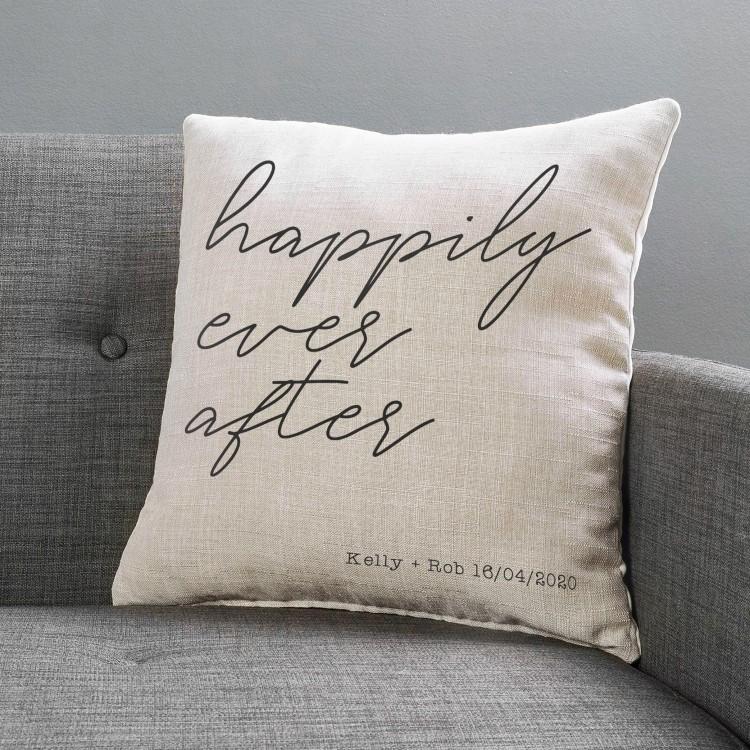 Personalised Cushion -  Large Linen