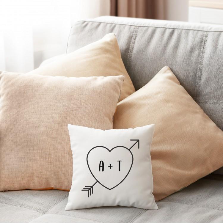Personalised Cushion -  Super soft white