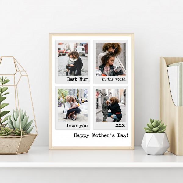 Polaroid Style Poster Prints