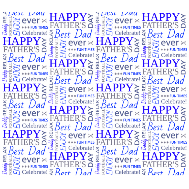 Personalised Wrapping Paper Father's Day